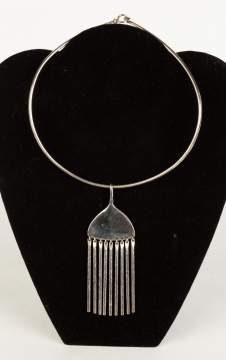 George Jensen Sterling Silver Necklace