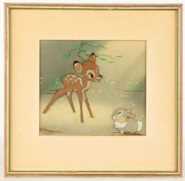 Walt Disney Production Bambi Cell