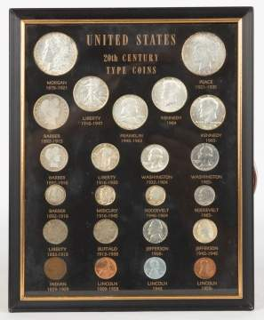 Mounted Coin Collection
