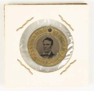 Abraham Lincoln and Hannibal Hamlin Ferrotype