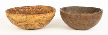 Two Burl Bowls
