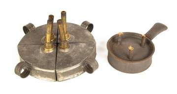 Early 19th Century Tin Lighting Devices