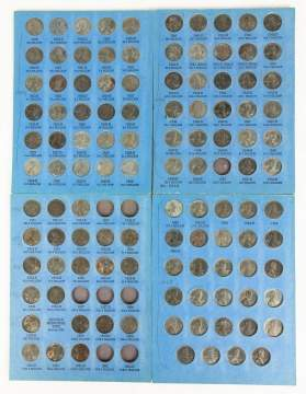 Collection of Steel Pennies