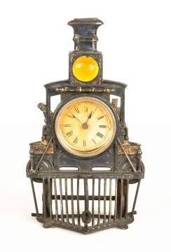 Ansonia Locomotive Clock