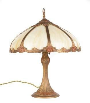 Arts and Crafts Style Panel Lamp