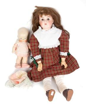 German Bisque & Composition Doll
