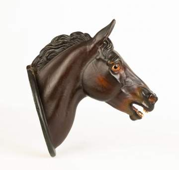 Art Pottery Horse Head