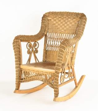 Child's Haywood Wakefield Rocking Chair