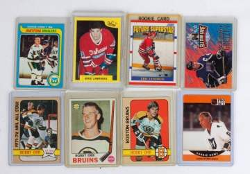 Fourteen NHL Trading Cards