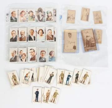 Large Group of Cigarette Cards