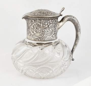 Fine Cut Glass Pitcher