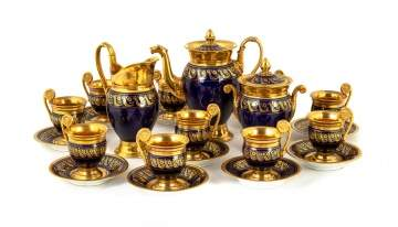 Attributed to Sèvres Demitasse Service