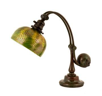 Tiffany Studios, NY Counter Balance Table Lamp