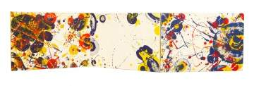 "Sam Francis, ""An Other Set-Y"" Triptych"