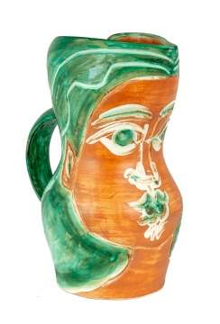 "Picasso Pitcher, ""Woman's Face"" (A.R. 192)"