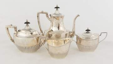 Gorham Four Piece Sterling Tea Set