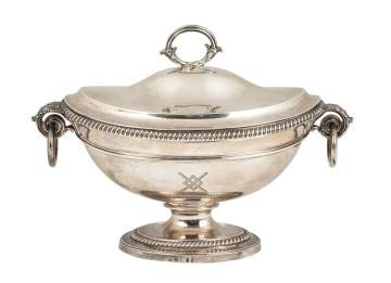 Paul Storr Sterling Silver Sauce Tureen