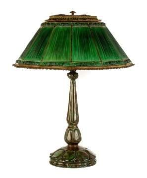 Tiffany Studios, NY Favrile Fabrique Table Lamp