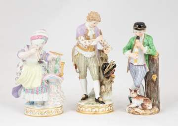 Pair of Meissen Figures
