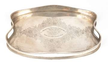 Rochester Horse Show Silver Tray