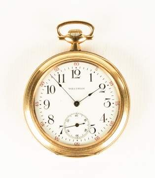 Waltham Gold Pocket Watch
