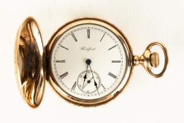 Rockford, IL Gold Pocket Watch