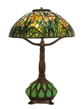 Tiffany Studios NY Daffodil Table Lamp