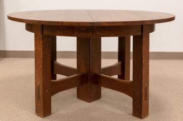 Early Gustav Stickley Dining Table