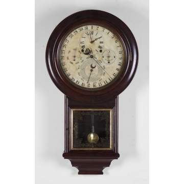 Gale Astronomical Calendar Wall Clock