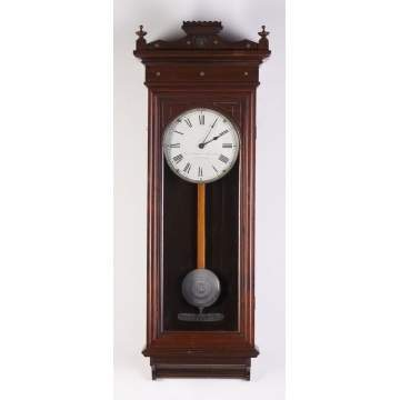 Self Winding Clock Co., NY, #8 Wall Regulator