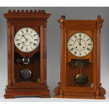 2 Seth Thomas Shelf Clocks