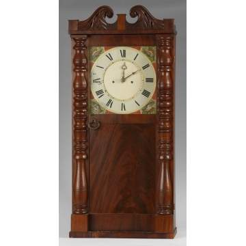 Abner Jones, E. Bloomfield, NY, Shelf Clock