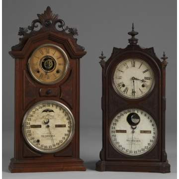 2 Ithaca Shelf Clocks
