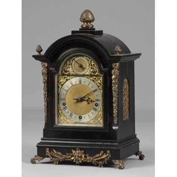 Victorian Bracket Clock with Sonora Chimes