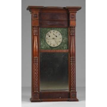 Asa Munger Ironing Board Top Shelf Clock