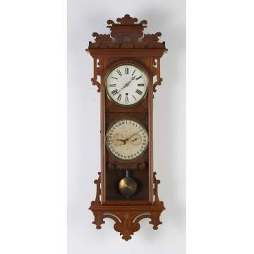 E.N. Welch Damrosch Wall Clock