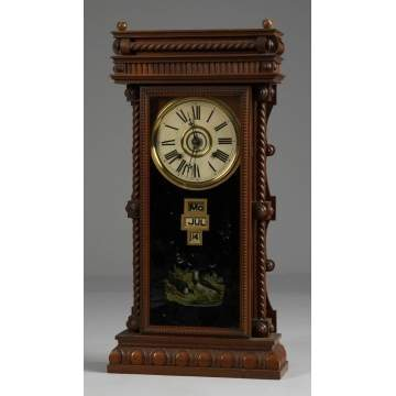 Gilbert Shelf Clock, Wm. L. Elberon