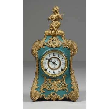 Kroeber Pompadour Shelf Clock