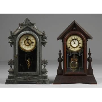 2 Kroeber Shelf Clocks