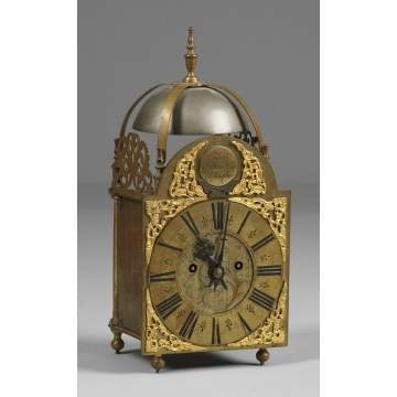 Edward Hunsdon Chelmsford, English Lantern Clock