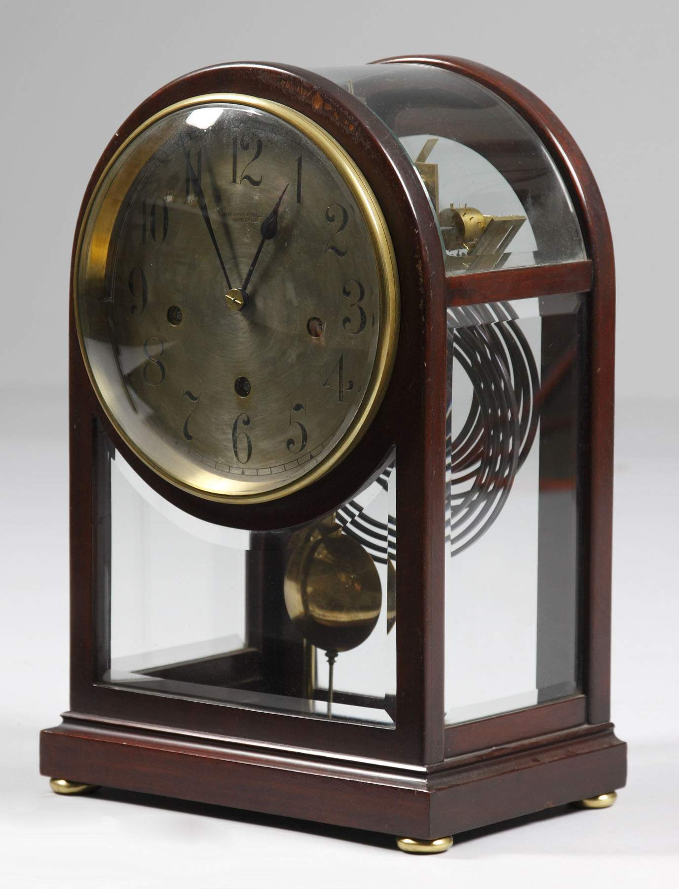 Retail By Bailey Banks Biddle Phil Pa Mantle Clock Cottone Auctions