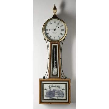 E. Howard 150th Anniversary Banjo Clock