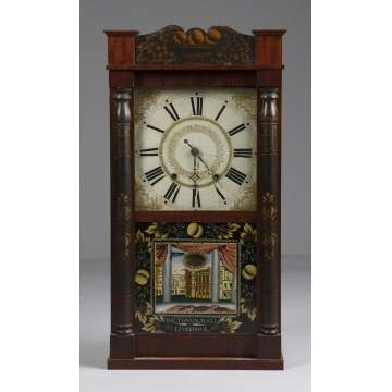 Henry Hart 3/4 Miniature Shelf Clock
