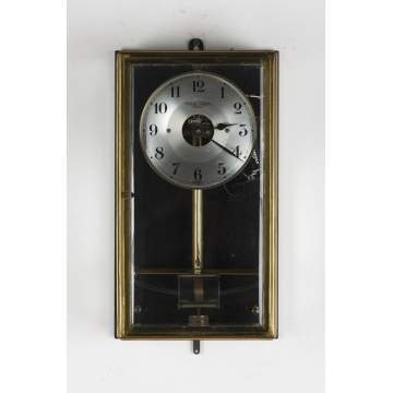 Boulle Brass Electric Wall Clock