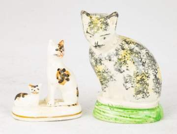 Early Staffordshire Cats