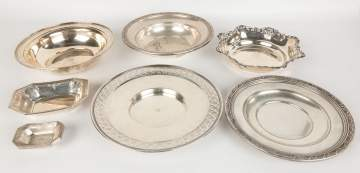 Group Various Sterling Table Items