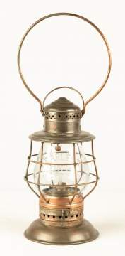 Kelly Lamp Co. Railroad Lantern