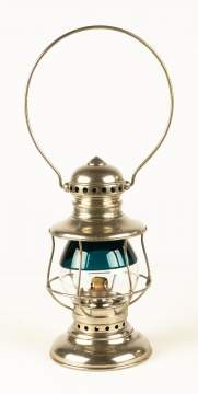 Adams & Westlake Co., Chicago, Railroad Lantern