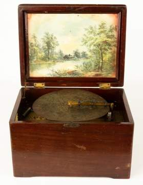 Regina Disc Music Box