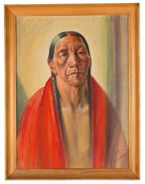 Joseph A. Imhof (American, 1871–1955), Portrait of Indian Man